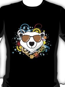Funny Hip-Hop Polar Bear T-Shirt