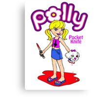 Polly Pocket Knife Canvas Print