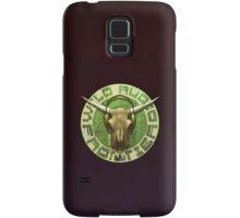 Wild Audio Frontier Headphone MP3 Cattle Skull Graphic Samsung Galaxy Case/Skin