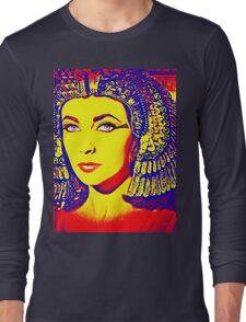 Elizabeth Taylor in Cleopatra Long Sleeve T-Shirt