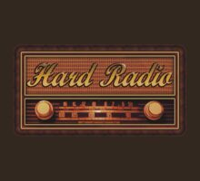 Hard Radio decoration Clothing & Stickers by goodmusic