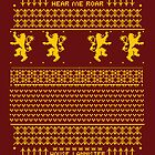 House Lannister Sweater by tombst0ne