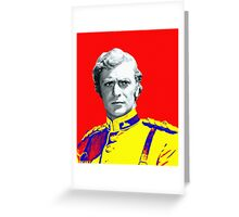 Michael Caine in Zulu Greeting Card