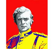 Michael Caine in Zulu Photographic Print