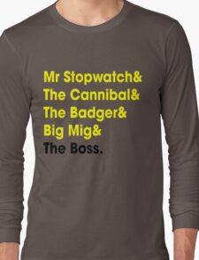 5 Times Tour Winners Nicknames (Yellow) Long Sleeve T-Shirt