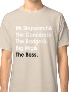 5 Times Tour Winners Nicknames (White) Classic T-Shirt
