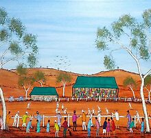"""""""Aussie Cricket Outback Style""""  SOLD by EJCairns"""