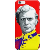Michael Caine in Zulu iPhone Case/Skin
