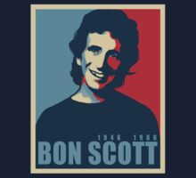 Bon Scott by Grunger71