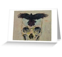 Black Crow Greeting Card