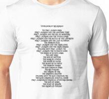 Rick Riordan books Unisex T-Shirt