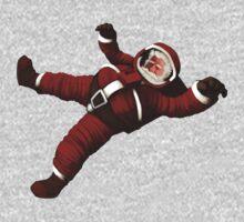 Christmas Santa Space Man Astronaut in Orbit Kids Clothes