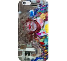 Colorful Carnival Parade Clown Abstract Impressionism iPhone Case/Skin