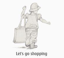 Let's go shopping Kids Tee