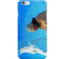 Ice Carver Abstract Impressionism iPhone Case/Skin