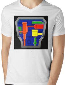 B.A.T.S. sticker alternative Mens V-Neck T-Shirt
