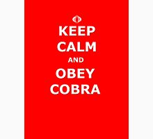 Keep Calm and Obey Cobra sticker alternative Unisex T-Shirt