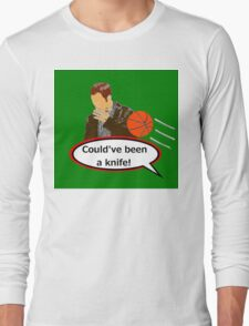 Could've Been a Knife! sticker alternative Long Sleeve T-Shirt