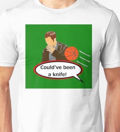 Could've Been a Knife! sticker alternative Unisex T-Shirt