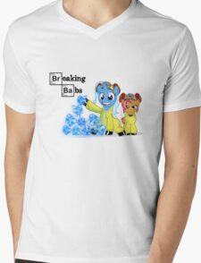 Breaking Babs  Mens V-Neck T-Shirt