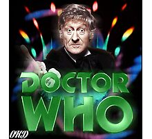 Doctor Who 50th Anniversary - Third Doctor Photographic Print