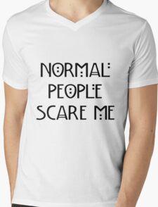 Scare Me Mens V-Neck T-Shirt