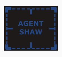 Agent Shaw as an Asset sticker alternative by REDROCKETDINER