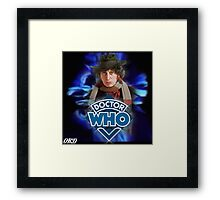 Doctor Who 50th Anniversary - Fourth Doctor Framed Print