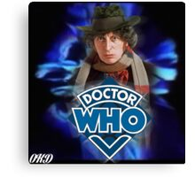 Doctor Who 50th Anniversary - Fourth Doctor Canvas Print