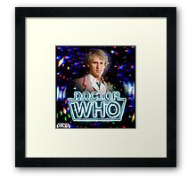 Doctor Who 50th Anniversary - Fifth Doctor Framed Print