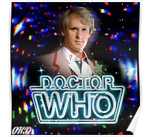 Doctor Who 50th Anniversary - Fifth Doctor Poster