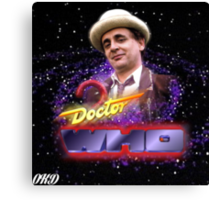 Doctor Who 50th Anniversary - Seventh Doctor Canvas Print