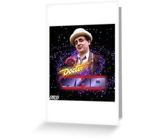 Doctor Who 50th Anniversary - Seventh Doctor Greeting Card