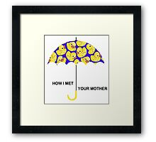 How I Met Your Mother. Framed Print