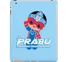 Cute Superhero Prabu  iPad Case/Skin