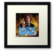 Doctor Who 50th Anniversary - Eighth Doctor Framed Print