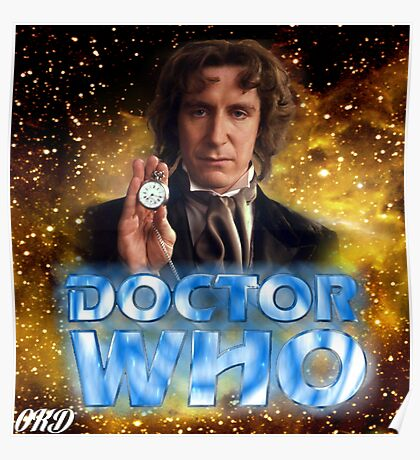 Doctor Who 50th Anniversary - Eighth Doctor Poster