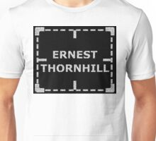 Ernest Thornhill is Alive sticker alternative Unisex T-Shirt