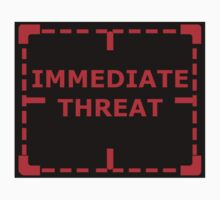 Immediate Threat sticker alternative by REDROCKETDINER