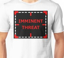 Imminent Threat sticker alternative Unisex T-Shirt