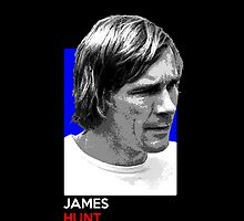 James Hunt - national flag colors by TheGearbox