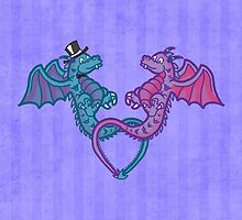 Little dragons by gabrielart