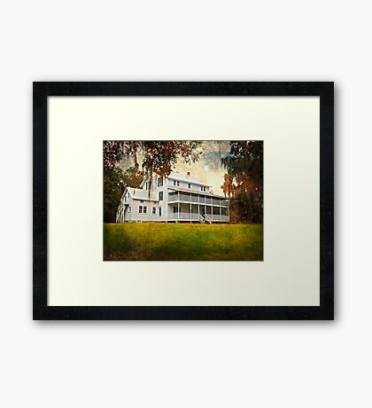Thursby House Blue Springs Framed Print