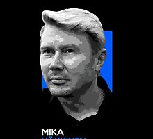 Mika Hakkinen - national flag colors by TheGearbox