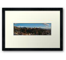 Alhambra in Granada, Spain Framed Print