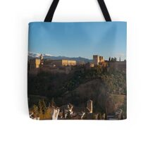 Alhambra in Granada, Spain Tote Bag