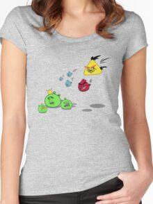Meme Birds Women's Fitted Scoop T-Shirt