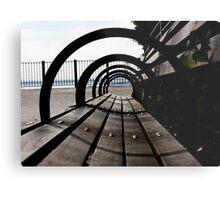 Brooklyn Park Bench Metal Print