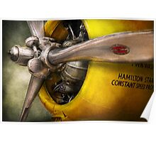 Plane - Pilot - Prop - Twin Wasp Poster