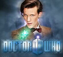Doctor Who 50th Anniversary - Eleventh Doctor by Oliver Kidsley